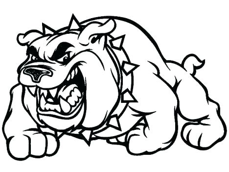 468x351 Bulldog Coloring Page French Coloring Pages French Bulldog