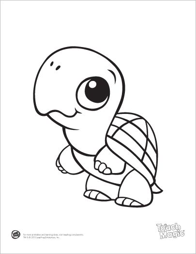 405x524 Baby Cartoon Animals Coloring Pages