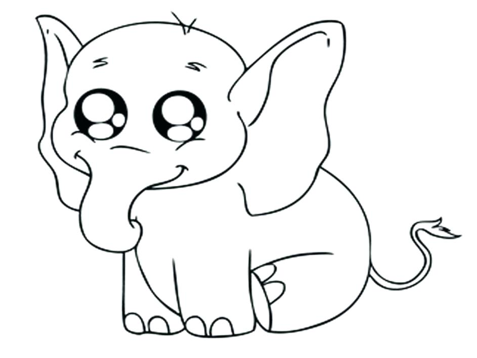 943x707 Cute Cartoon Coloring Pages Cute Baby Narwhal Coloring Page Cute