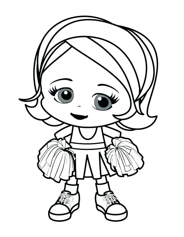 600x776 Cute Girl Coloring Pages Cute Cartoon Coloring Pages Cute Girl
