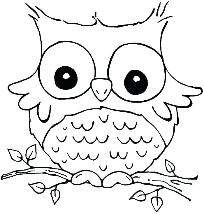 700x734 Cartoon Owl Coloring Pages Owl Coloring Page Owl Coloring Pages
