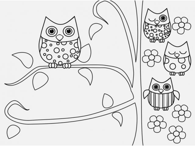 640x480 Free Owl Coloring Pages Photo Free Printable Owl Coloring Pages