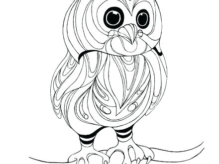 440x330 Baby Owl Coloring Pages Elegant Baby Owl Coloring Pages Image Page