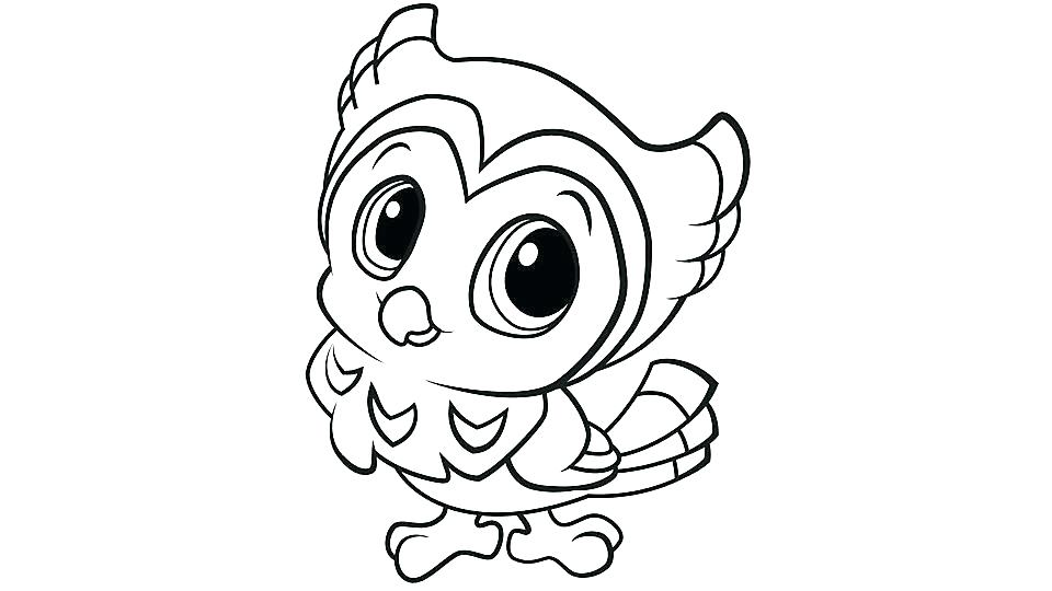 960x540 Owl Coloring Pages For Adults Pdf Cute Owl Coloring Pages