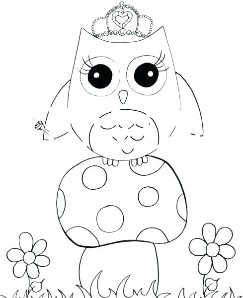 489x600 Owl Coloring Pages To Print Owl Coloring Pictures Owls Coloring