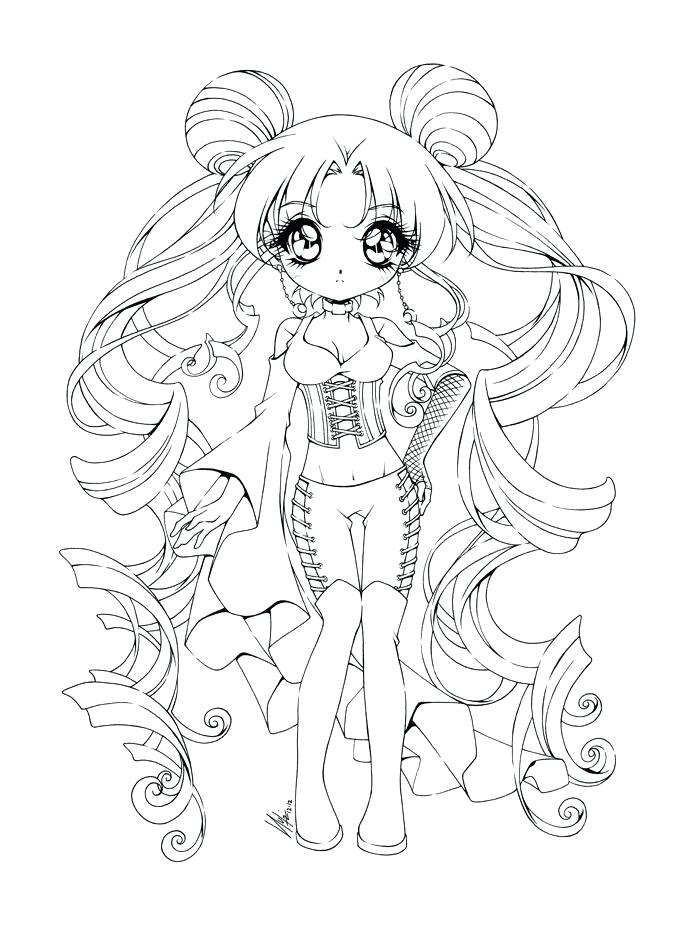 700x933 Coloring Pages Coloring Pages A Cute Chibi Girl Colouring Pages