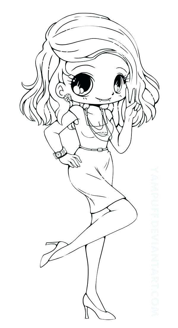 600x1108 Cute Chibi Coloring Pages Amazing Cute Coloring Pages