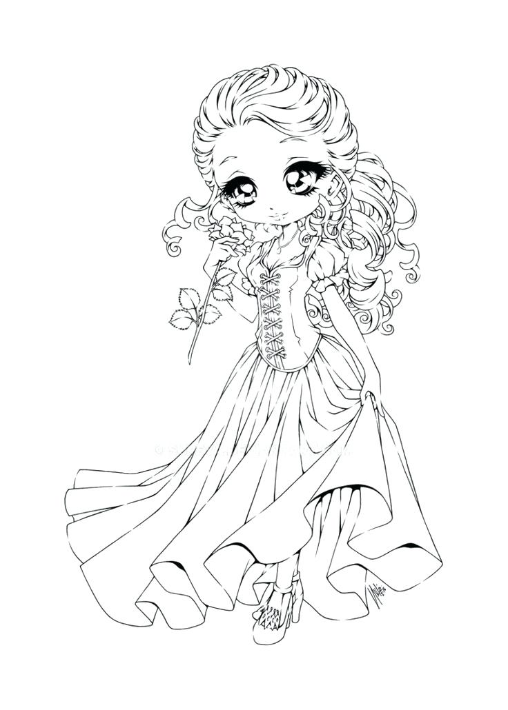 736x1030 Cute Chibi Coloring Pages I Was Asked To Draw A And Thought Why