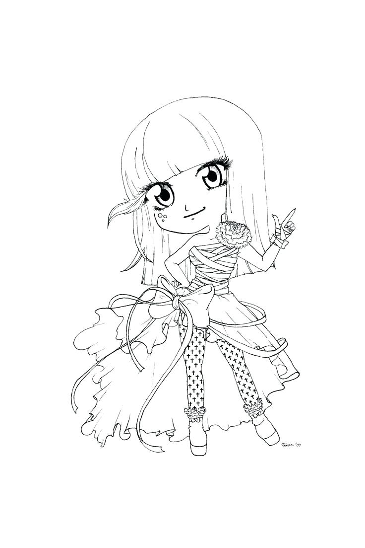 736x1103 Coloring Pages Chibi Coloring Pages Anime For Girls Sailor Moon