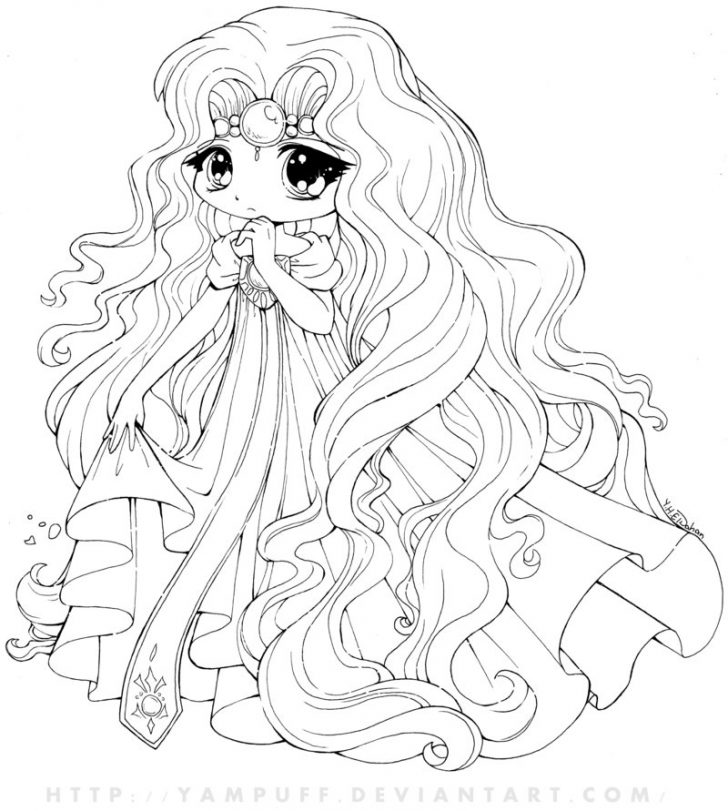 728x811 Chibi Coloring Page Cute Chibi Coloring Pages Fablesfromthefriends