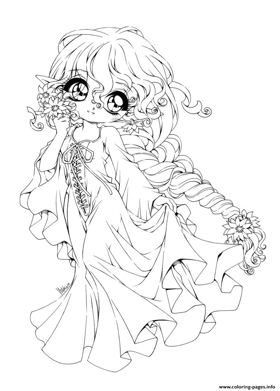 900x1254 Chibi Coloring Pages