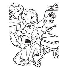 Cute Coloring Pages Disney