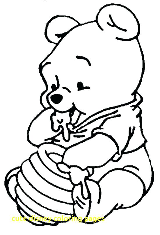 Cute Coloring Pages Disney At Getdrawings Com Free For