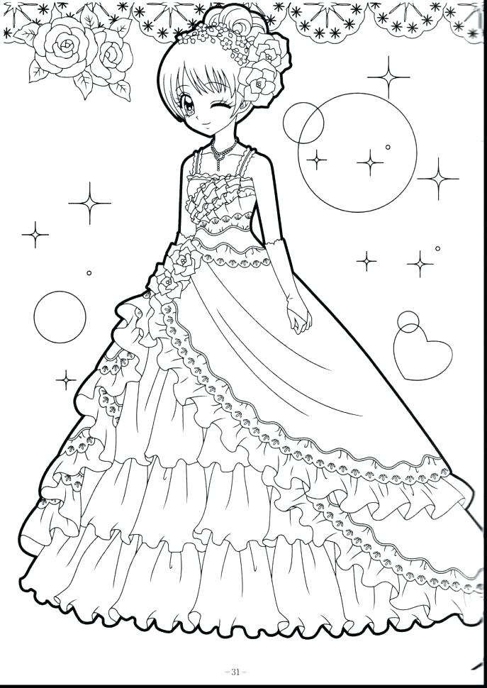 Cute Coloring Pages For Girls To Print at GetDrawings.com ...