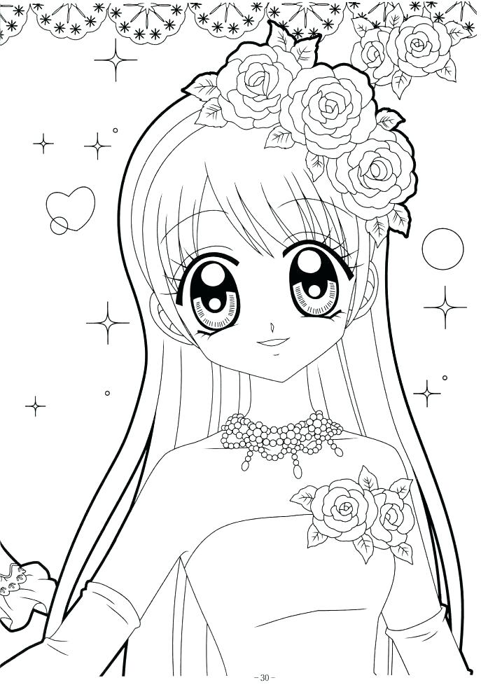 687x978 Cute Girl Coloring Pages Cute Wolf Girl Coloring Pages Cute Chibi