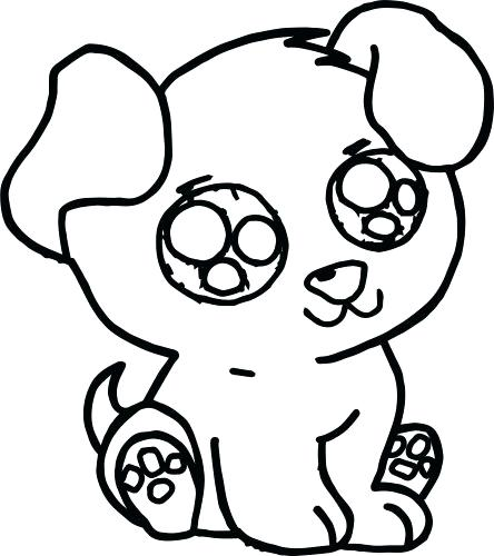 444x500 Coloring Pages Of Puppies Medium Size Of Cute Coloring Pages
