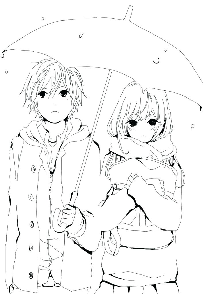 707x1024 Cute Couple Coloring Pages Cute Couple Coloring Pages Cute Anime
