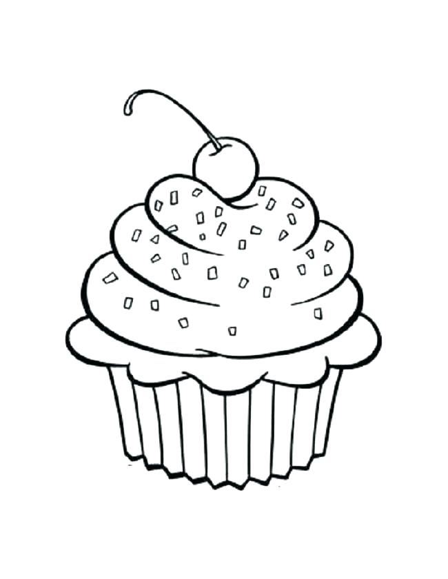 650x840 Cute Cupcake Coloring Pages Coloring Pages Of Cupcakes As Well As