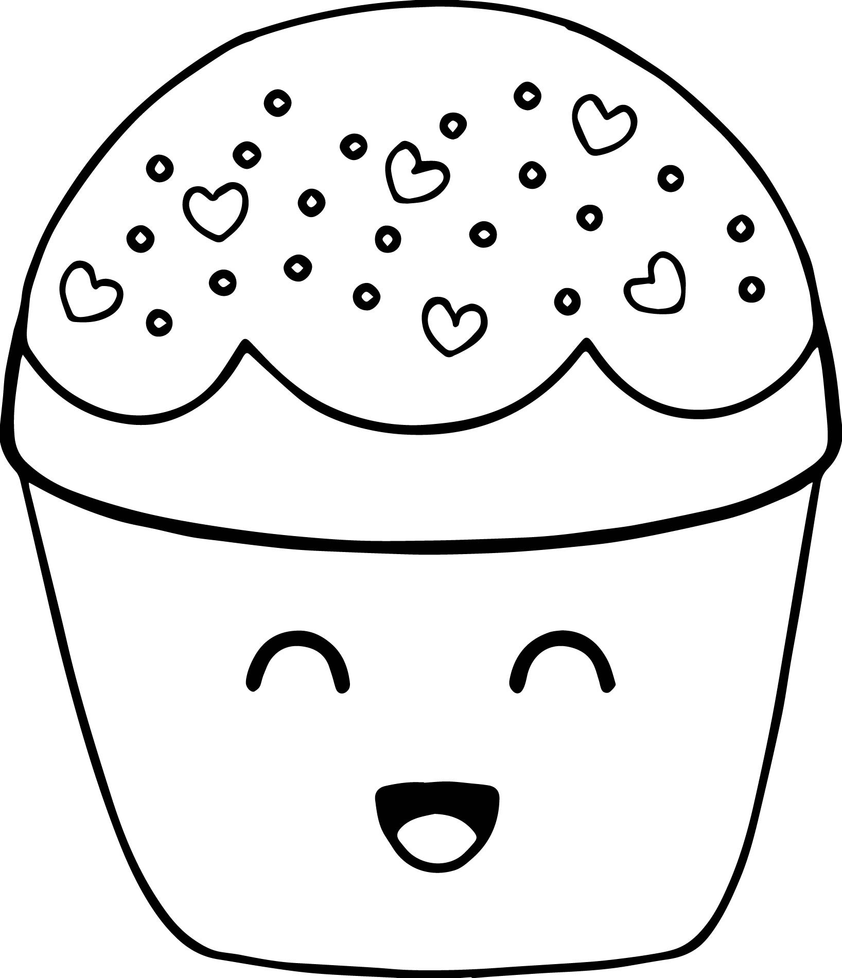1636x1901 Stunning Cupcakes Coloring Pages Printable Photos Entry Level Cool
