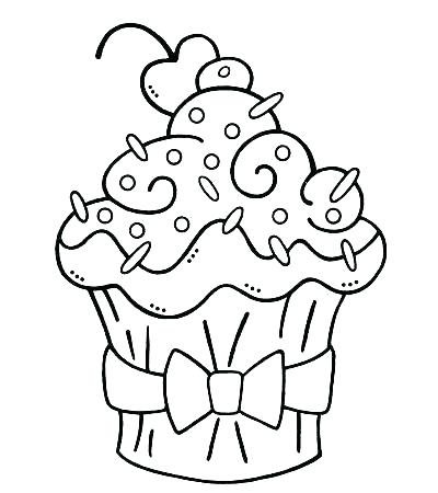 400x450 Cupcake Coloring Pages Cupcakes Coloring Cupcakes Coloring Pages