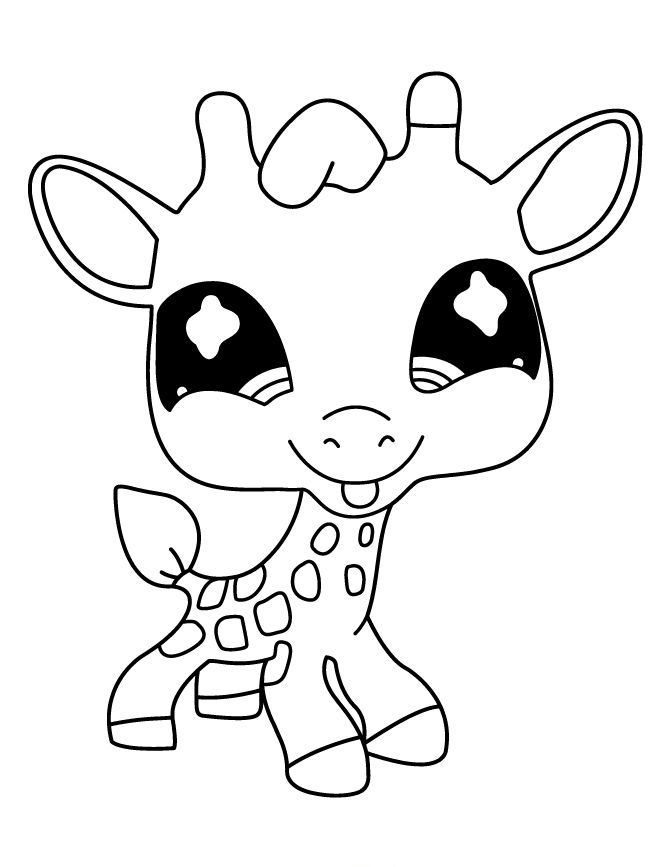 670x867 Best Littlest Pet Shop Coloring Pages Images
