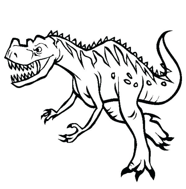 600x612 Cute Dinosaur Coloring Pages Oring Free Printable Cute Dinosaur