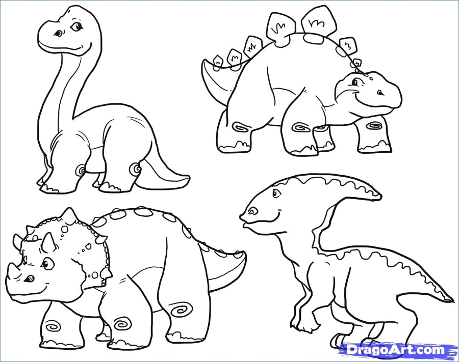 900x711 Cute Triceratops Dinosaur Coloring Pages
