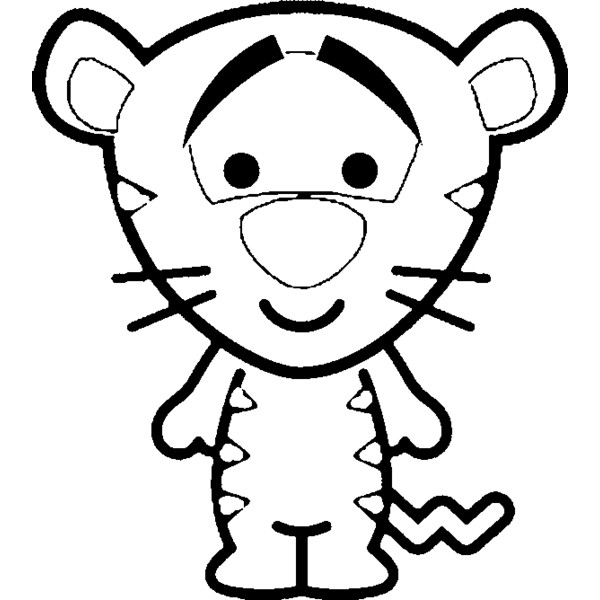 600x600 Cute Disney Coloring Pages