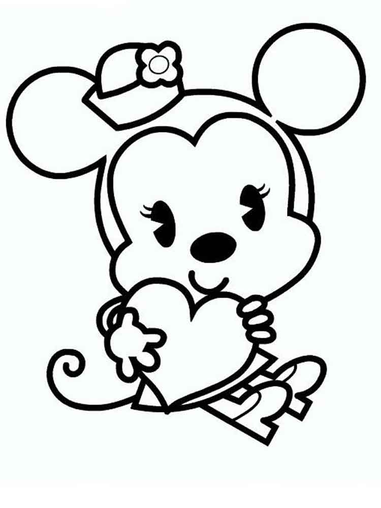 750x1000 Cute Disney Coloring Pages Cute Disney Coloring Pages Free