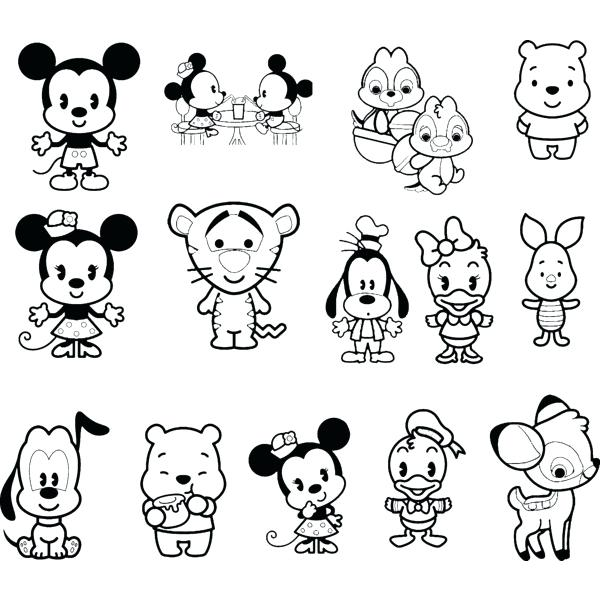 600x600 Cute Disney Coloring Pages Disney Coloring Pages As Well As Cute