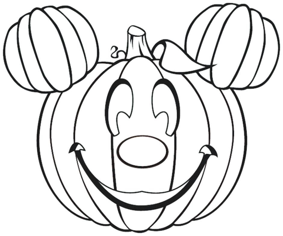 940x783 Disney Halloween Printable Coloring Pages Halloween Disney