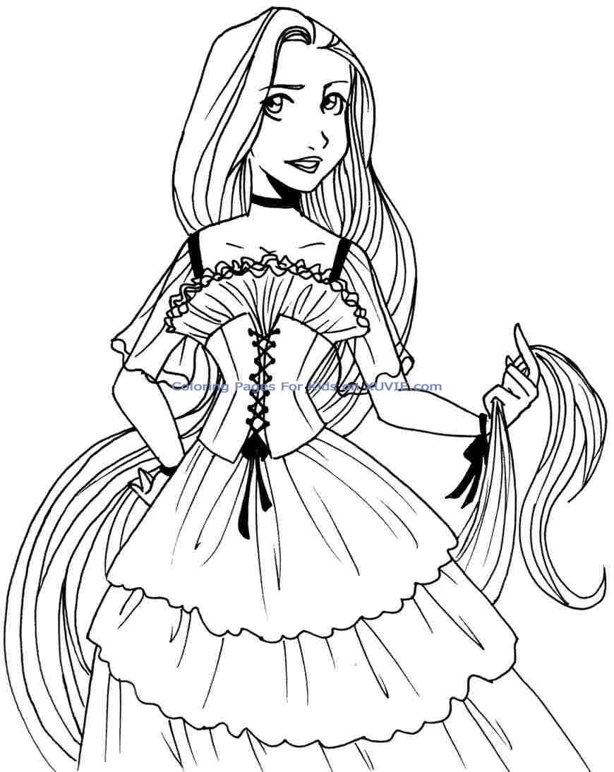 870x1094 Cute Disney Coloring Pages Best Of Excellent Baby Princess