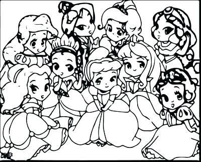 400x322 Disney Baby Princess Coloring Pages All Baby Princesses Coloring