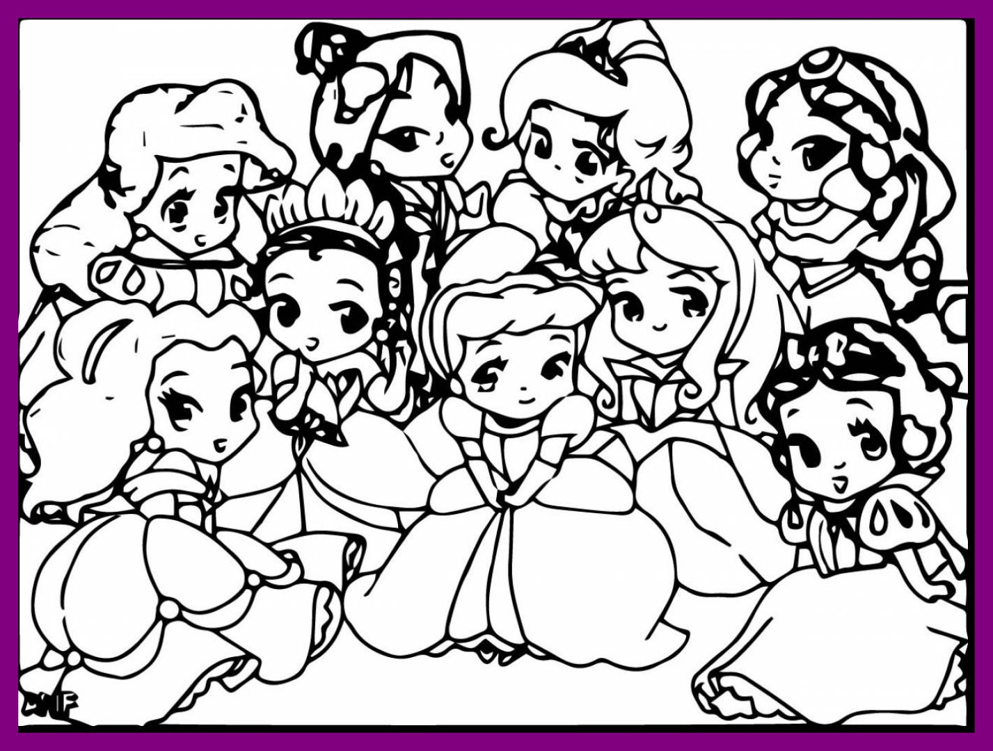 1427x1080 Incredible Cute Disney Princess Coloring Pages For Princesses