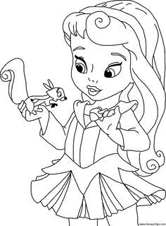 236x320 Cute Princess Coloring Pages To Print Digi Art Free