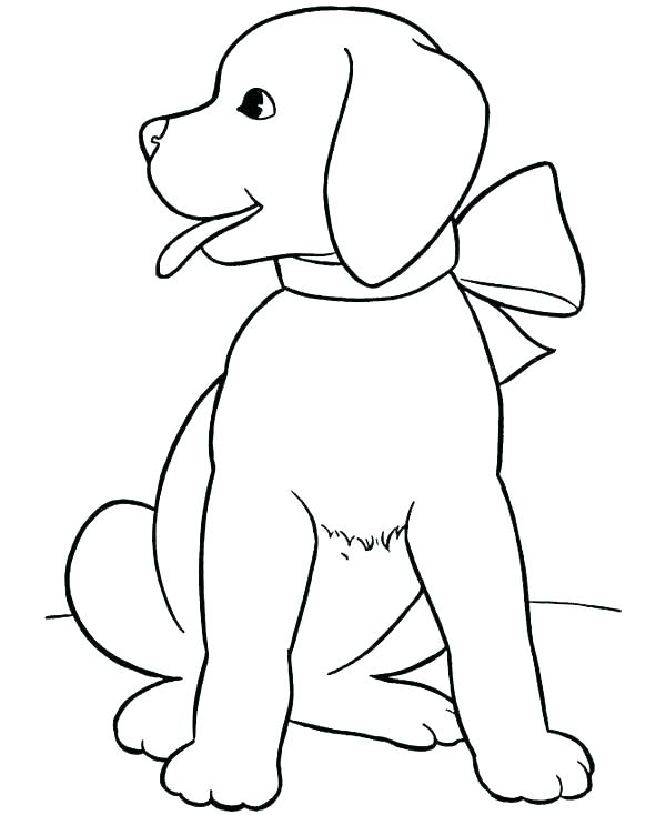 600x734 Dogs Coloring Pages Realistic Dog Coloring Pages Cute Dogs