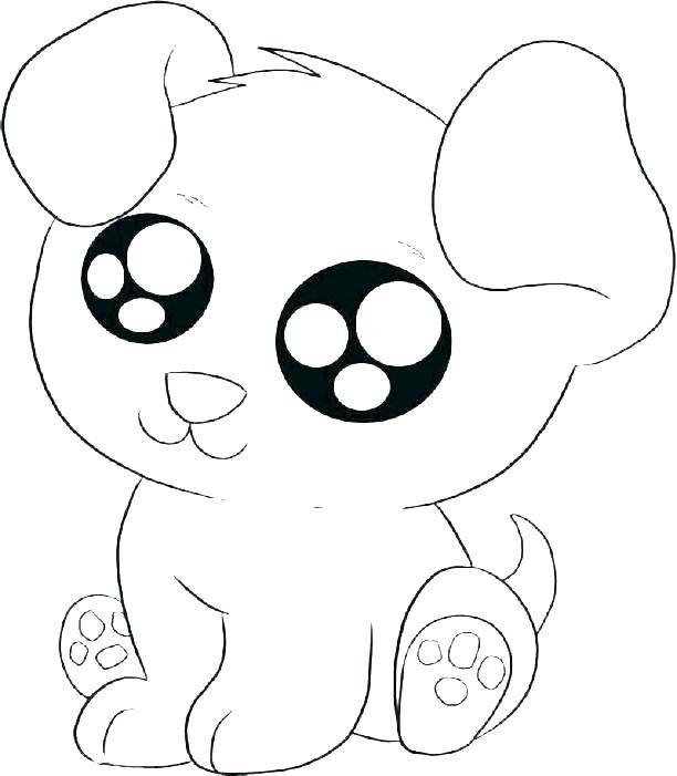 612x701 Free Printable Puppy Dog Coloring Pages And Download