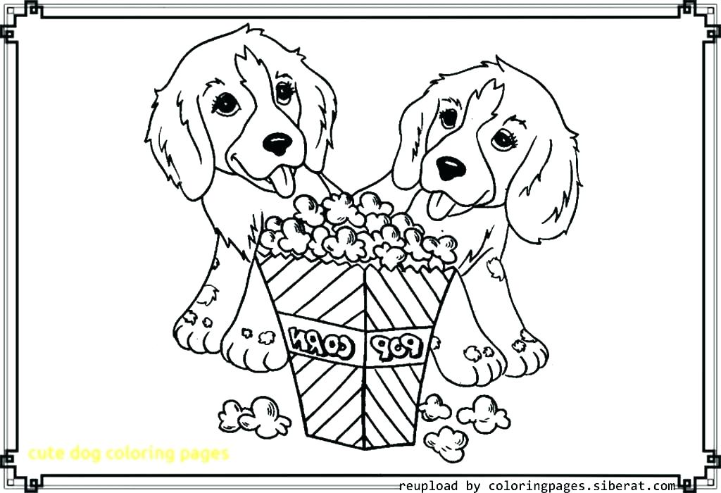 1024x700 Printable Dog Coloring Pages Cartoon Dog Colouring Pages Cute