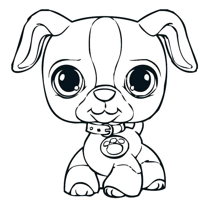 727x731 Printable Dog Coloring Pages Dog Pictures For Coloring Puppy Dog