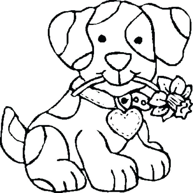 Cute Dog Coloring Pages Printable at GetDrawings.com | Free for ...