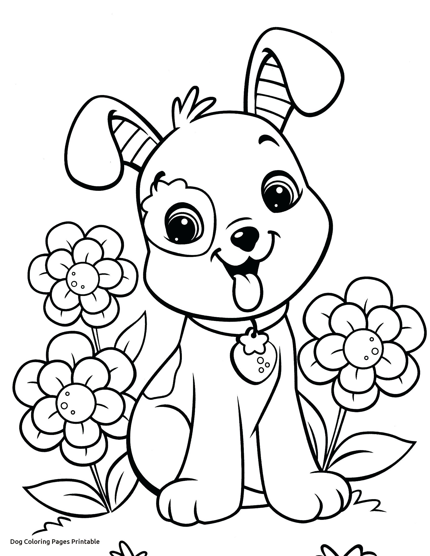 1700x2200 Unnamed Cute Dog Coloring Pages