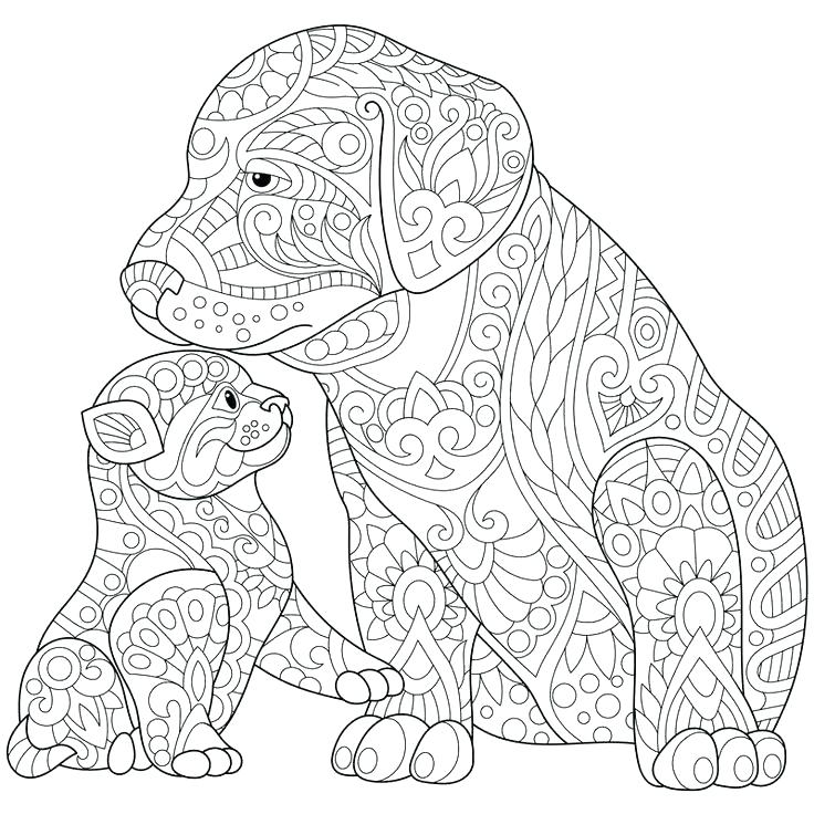Cute Dog Coloring Pages To Print At Getdrawings Free Download