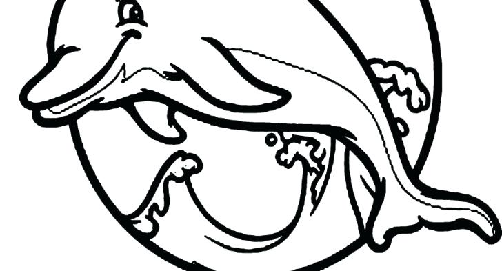 728x393 Cute Dolphin Coloring Pages Cute Baby Dolphin Coloring Pages Cute