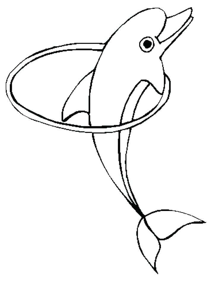 711x948 Cute Dolphin Coloring Pages Dolphins Coloring Pages Free Dolphin
