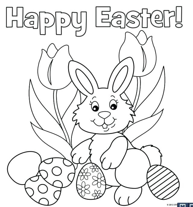 640x686 Easter Bunny Coloring Page Beautiful Cute Easter Bunny Coloring