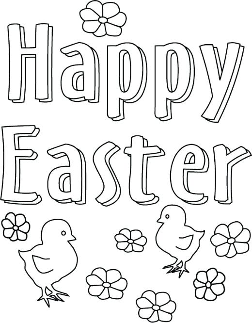 520x666 Easter Themed Coloring Pages Kids Themed Coloring Pages Print