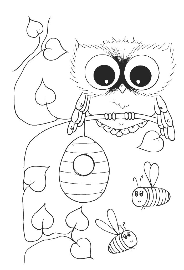700x1030 Brightspiration Free Owl Coloring Pagesspiring Cute