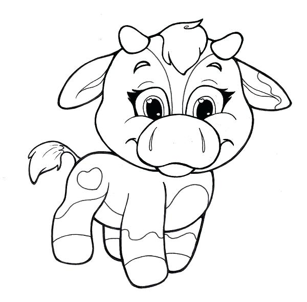 600x589 Coloring Pages Cute Animals Cute Animals Eyes Coloring Pages
