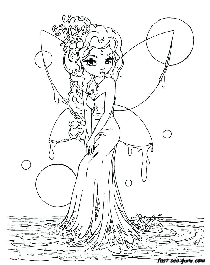 736x930 Cute Fairy Coloring Pages Fairy Color Pages Cute Fairy Coloring