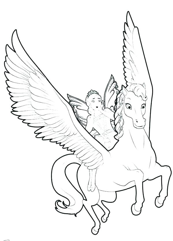 600x834 Fairy Coloring Pages For Kids Fairy Coloring Pages Cute Fairy